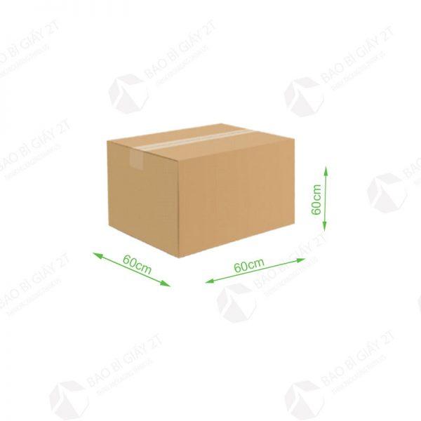 Thùng carton 60x60x60cm
