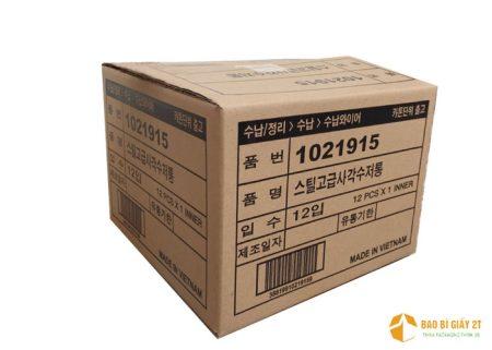 Kích thước, cân nặng chuẩn của thùng carton