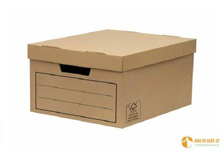 Hộp carton lưu hồ sơ  mua ở đâu giá tốt