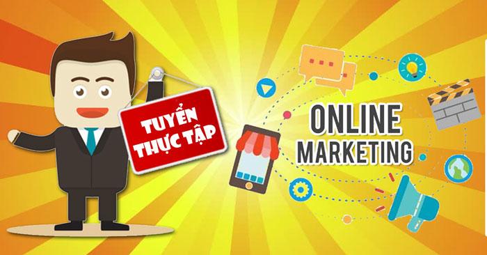 Tuyển dụng thực tập sinh marketing online