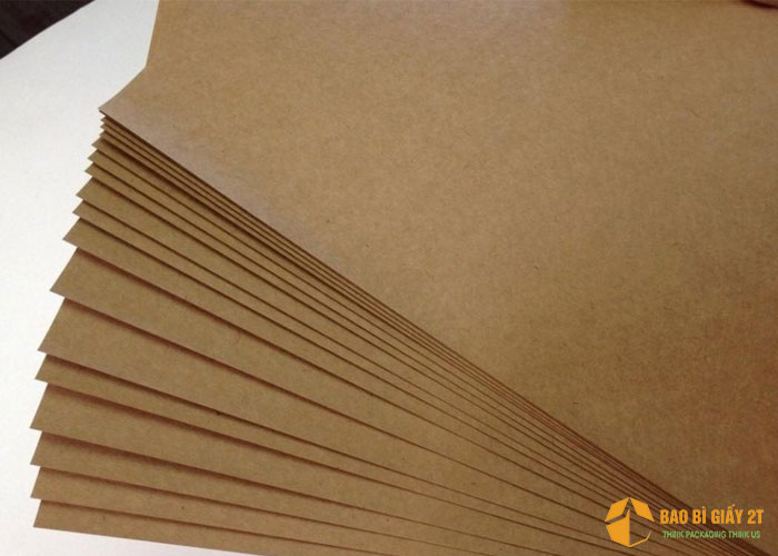 Giấy Kraf dùng làm bao bì giấyđựng gà rán
