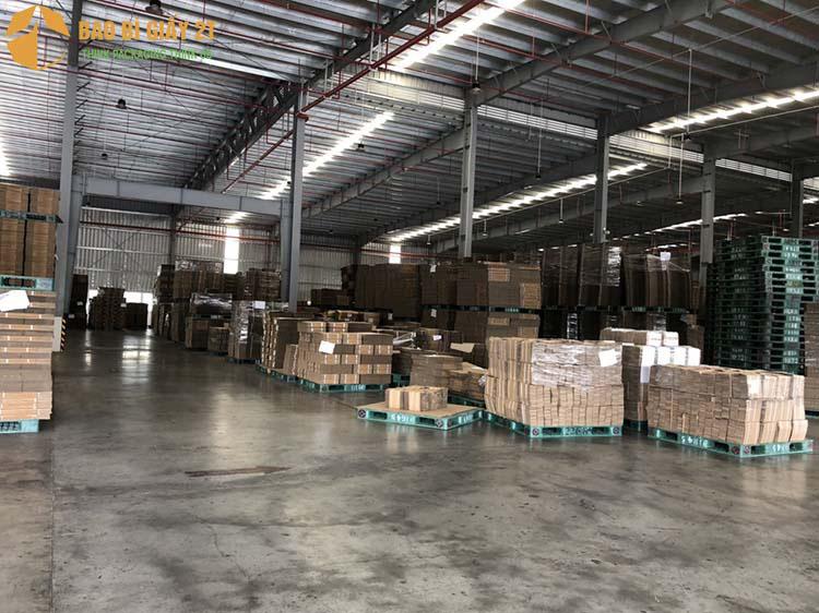 Nhà, xưởng sản xuất bao bì giấy lớn của Bao Bì Giấy 2T