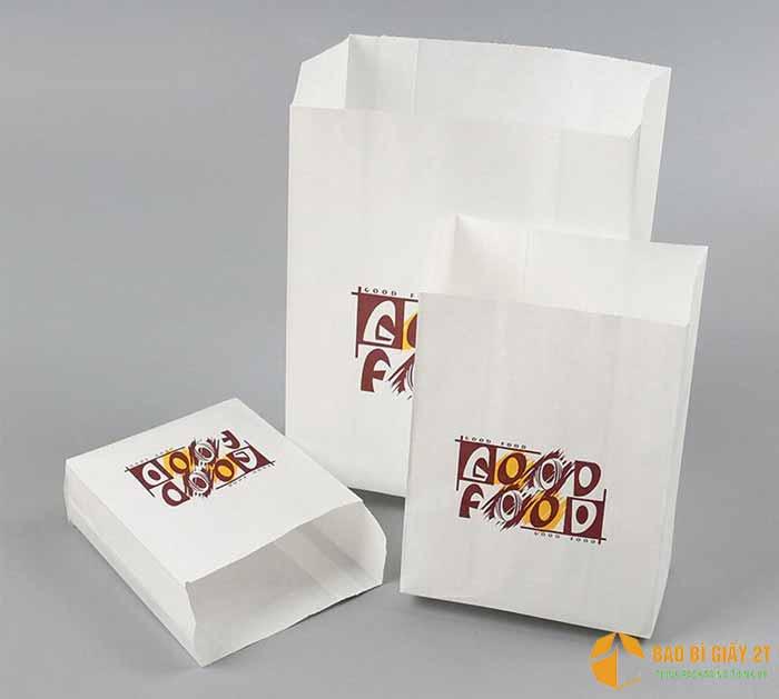 Mẫu túi giấy đơn giản, in logo