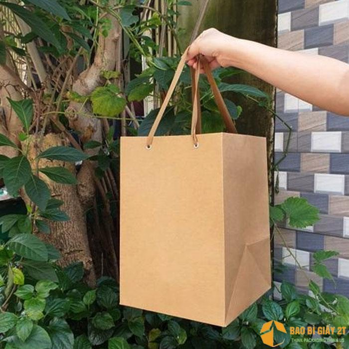 Túi giấy có quai cỡ lớn