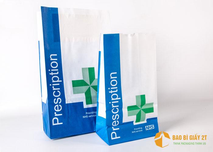 Bao bì túi giấy đựng thuốc
