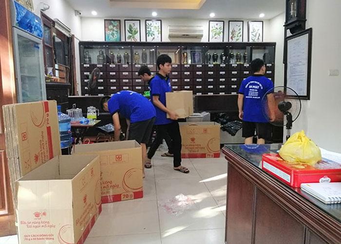 Mua thùng carton cũ tại Hà Nội